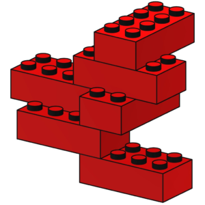 LEGO House Red Bricks