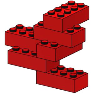 LEGO House Red Bricks